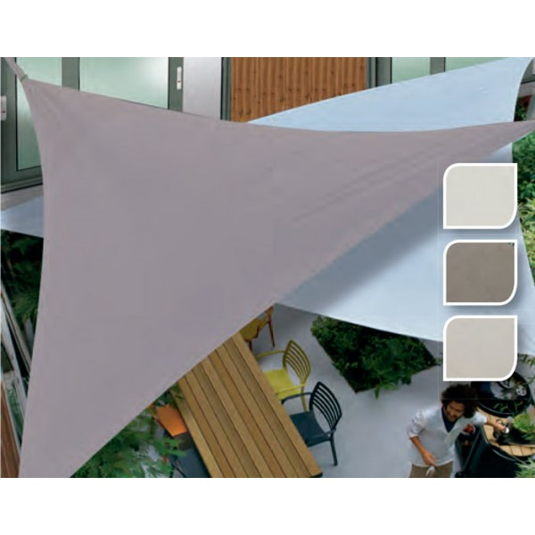 Toldo triangular vela 3 6m bricofermin for Bricofermin piscinas